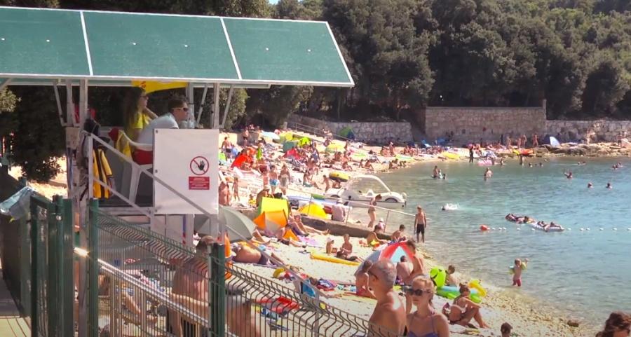 Strand kroatien fkk porec Mobilheime Naturist